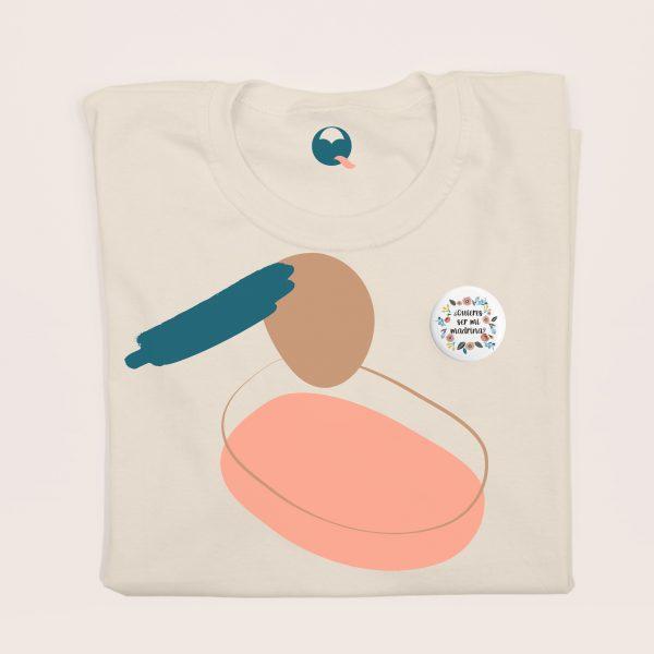 chapa-quieres-ser-madrina-camiseta